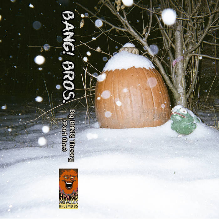 Mom will never suspect anything nefarious from this lovely pumpkin in the snow.