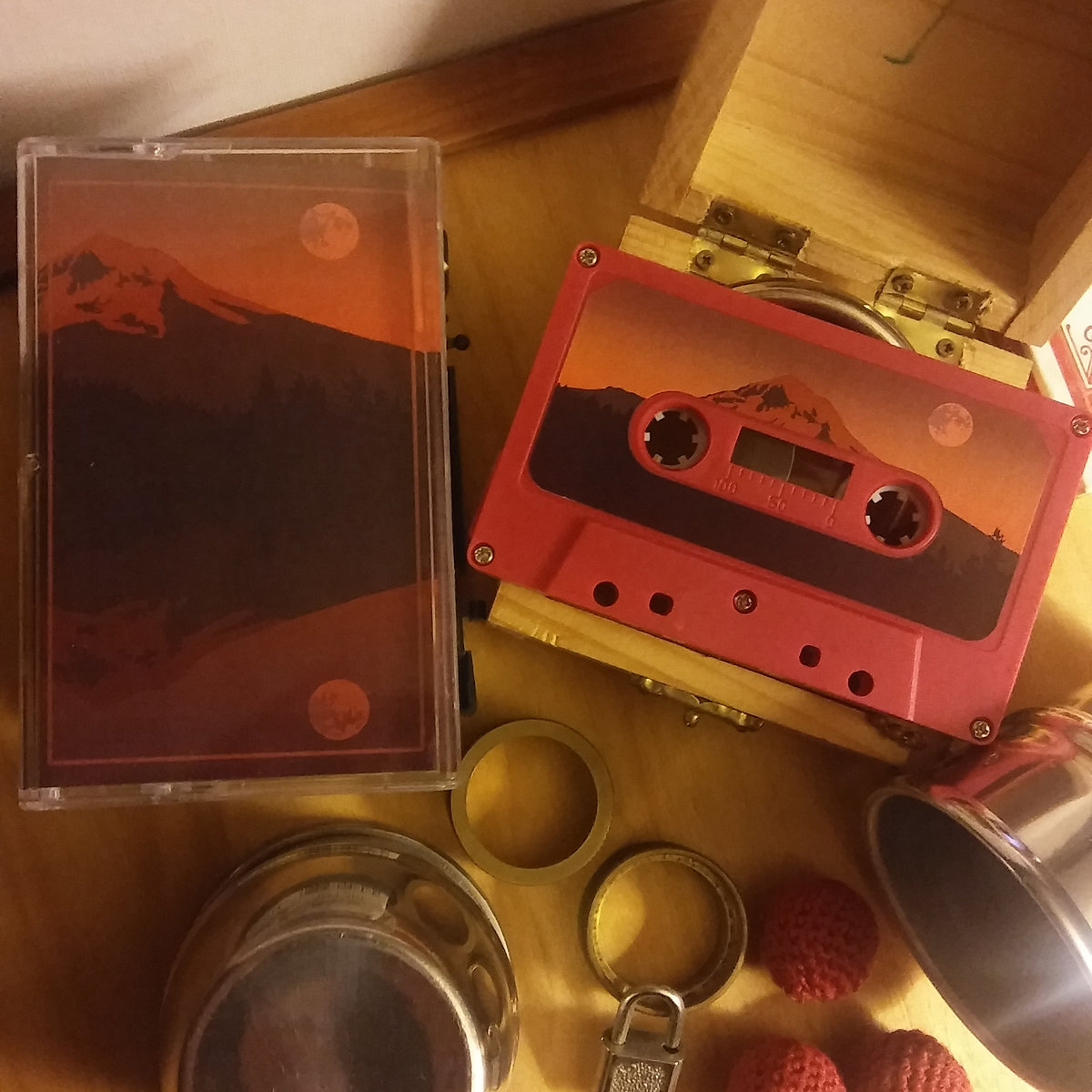The cassette edition of goodbye to all that.