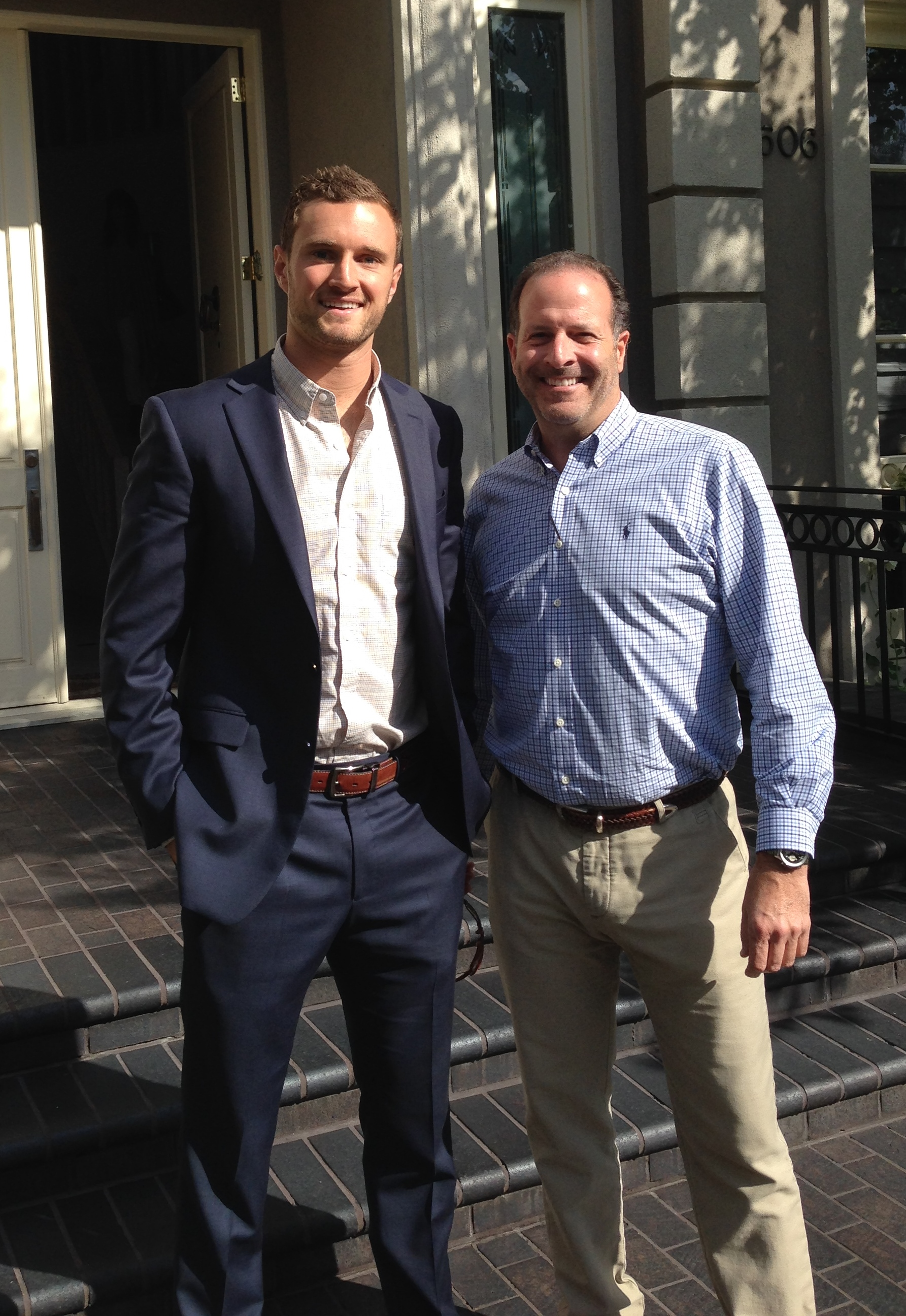 Me and Steve previewing luxury properties in Beverly HIlls, CA.
