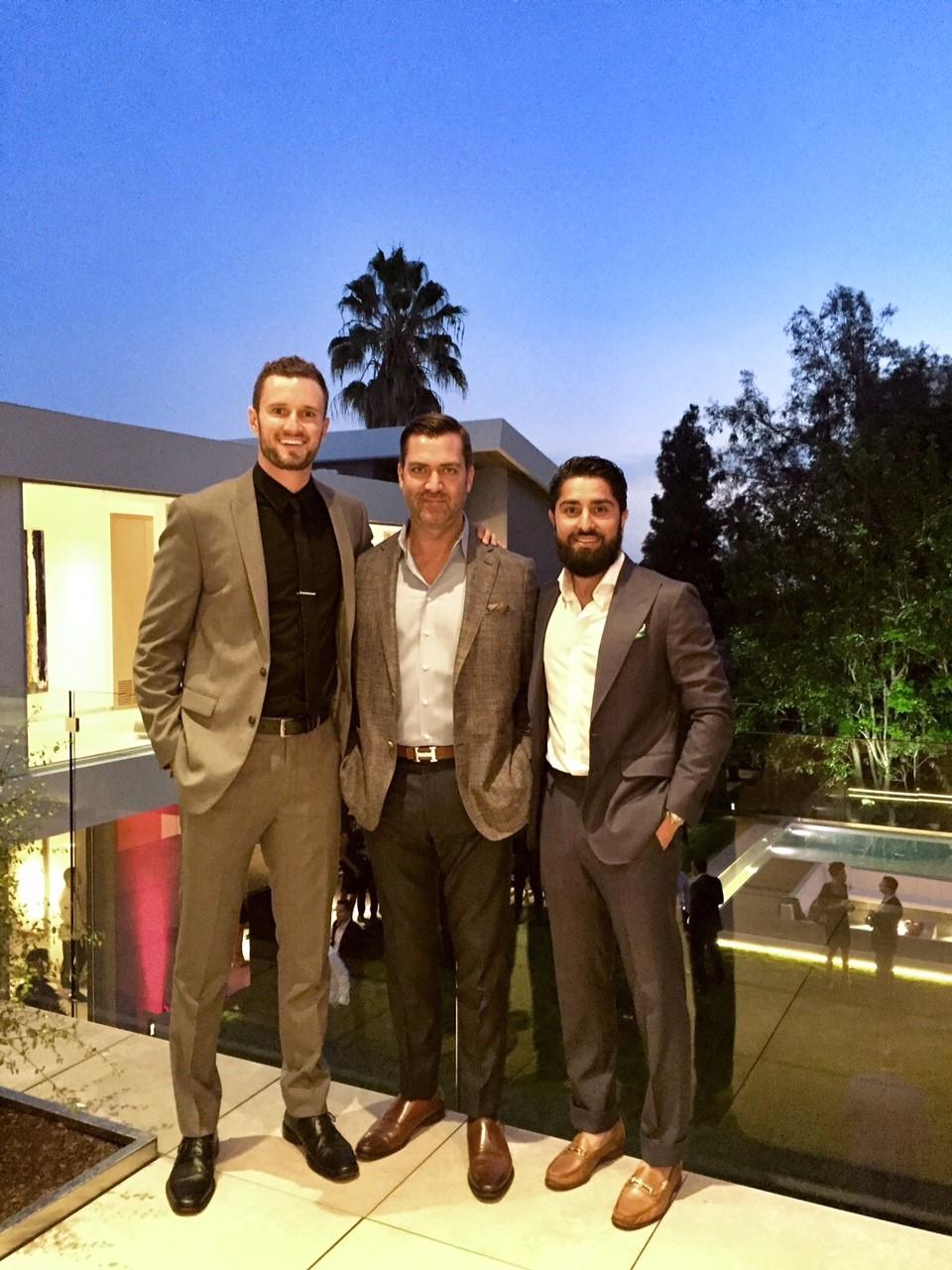 Scott Wasner, Dusty Baker (me) and Roh Habibi.