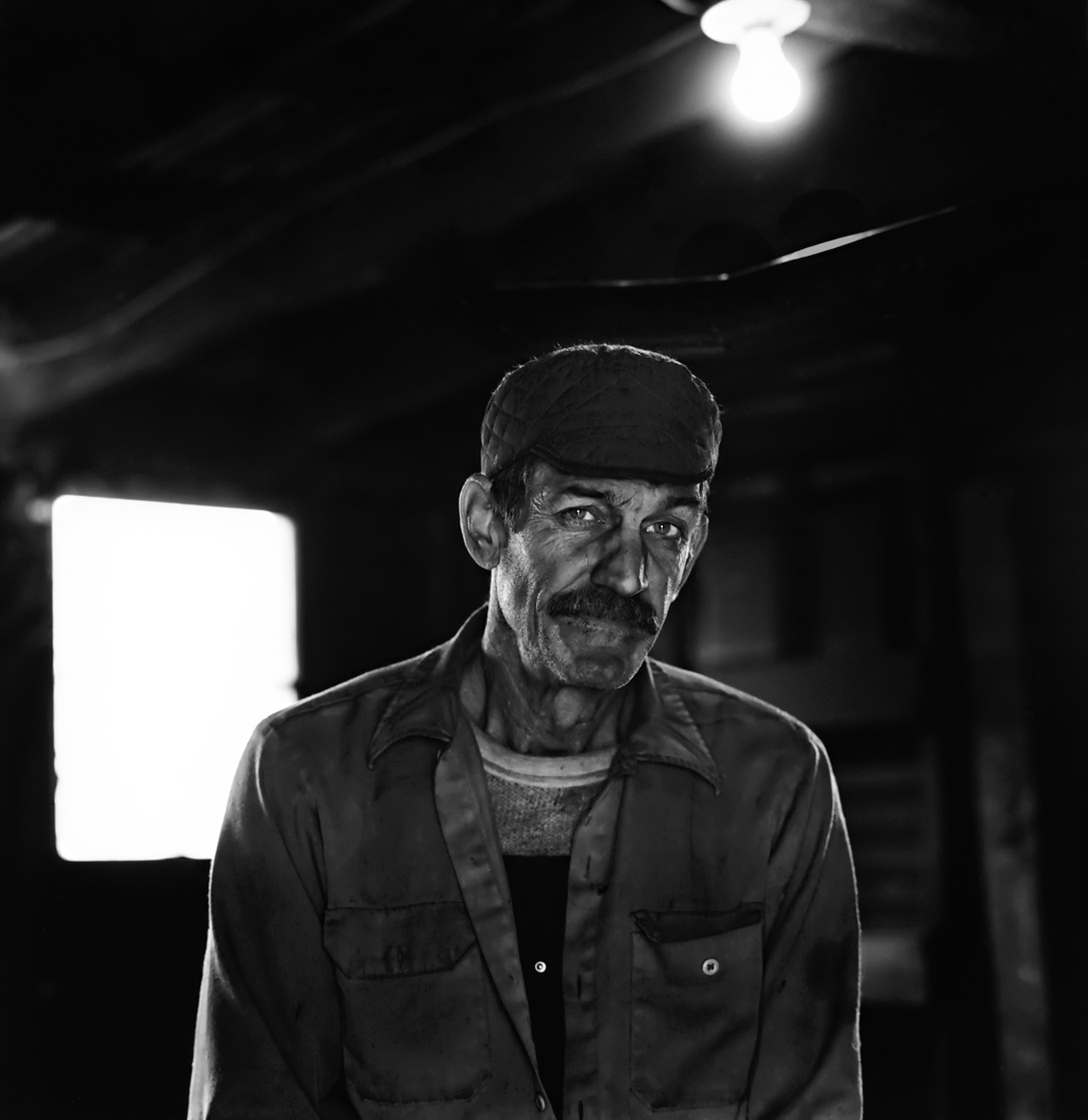 Farmer Bob, photographed for my project Hard Coal about the last independent anthracite miners