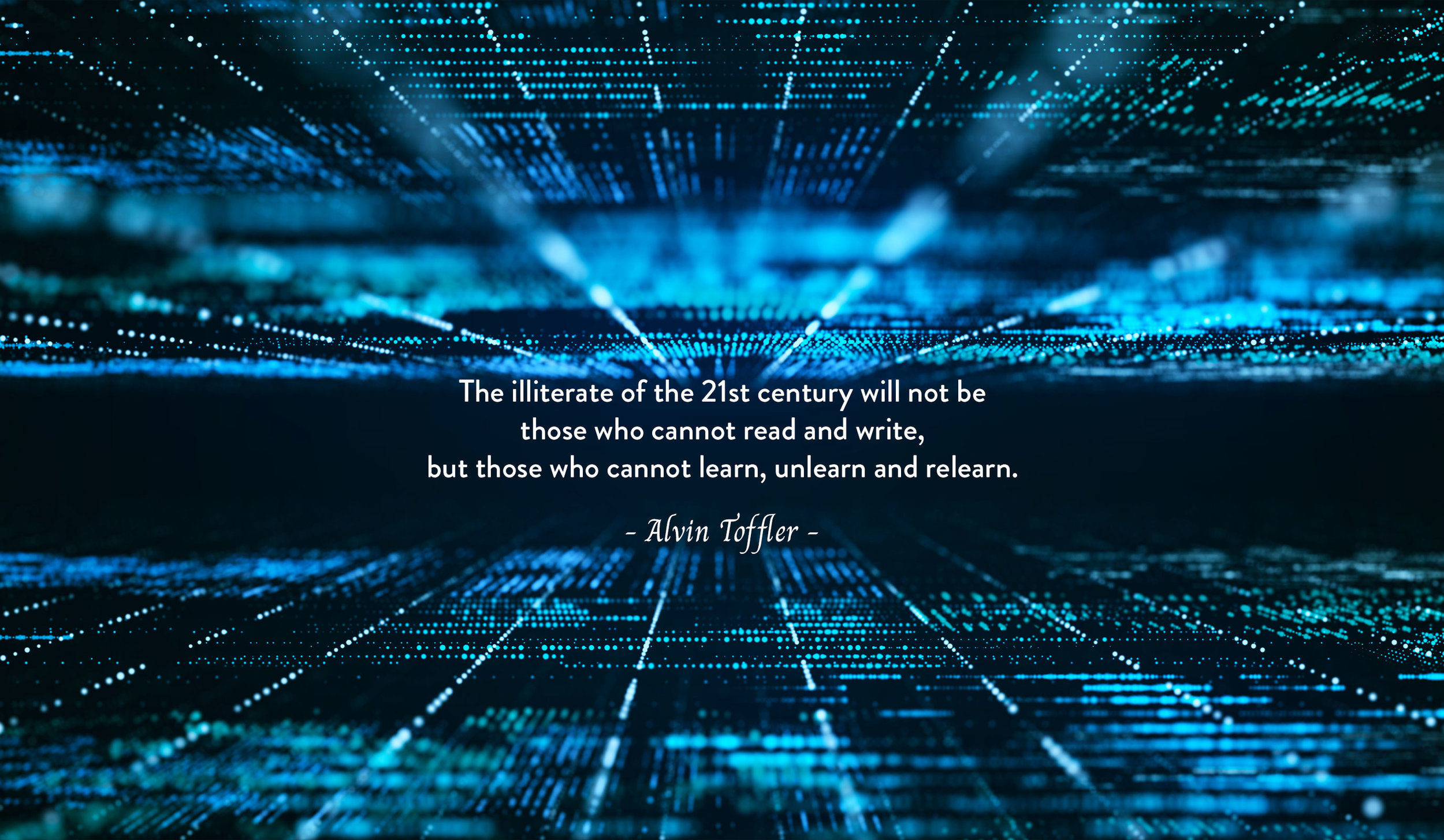 Quote by Alvin Toffler on the illiteracy of the 21st century