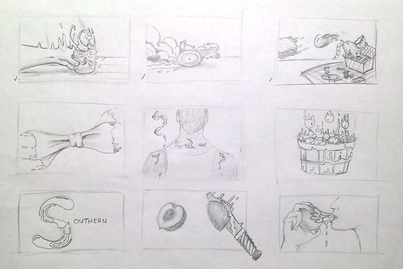 Sketches for the first project