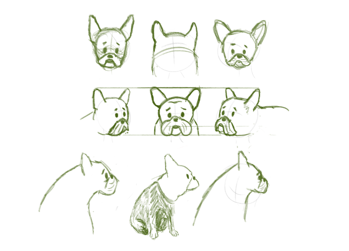 Initial Willoughby sketches.