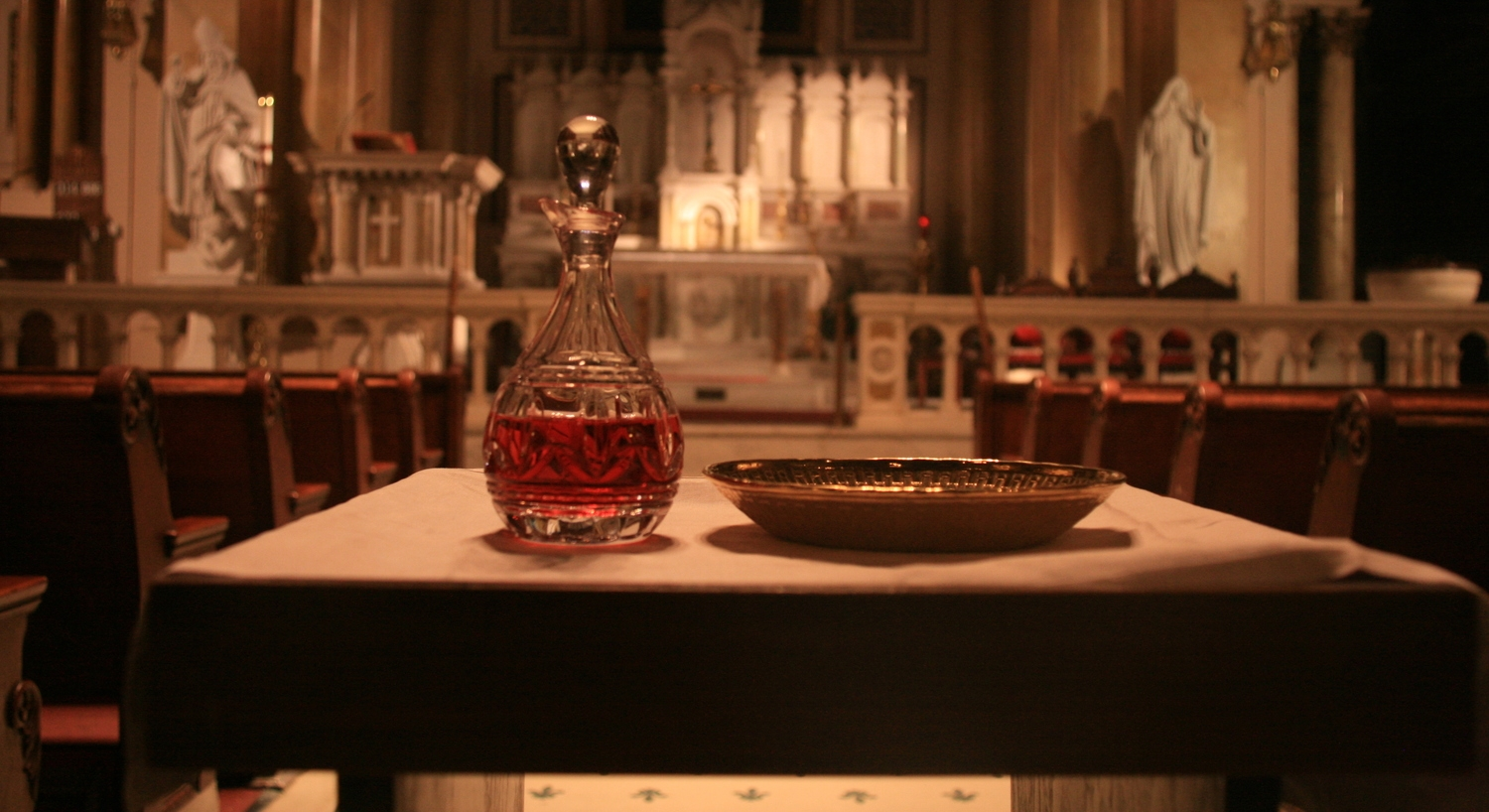 Eucharist — St  Augustine Church