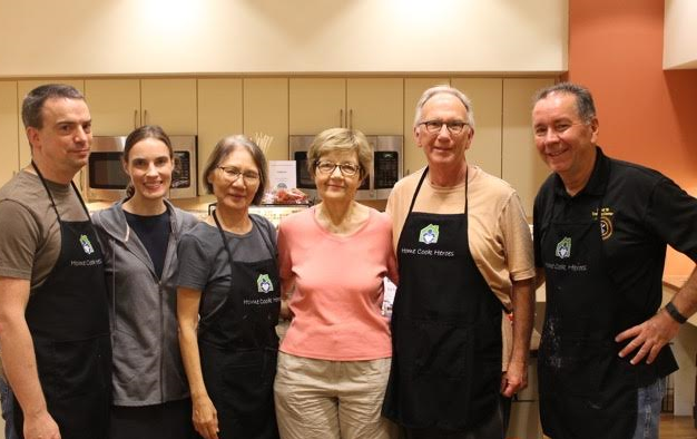 "Tuesday Night's ""HOME COOK HEROES"" TEAM"