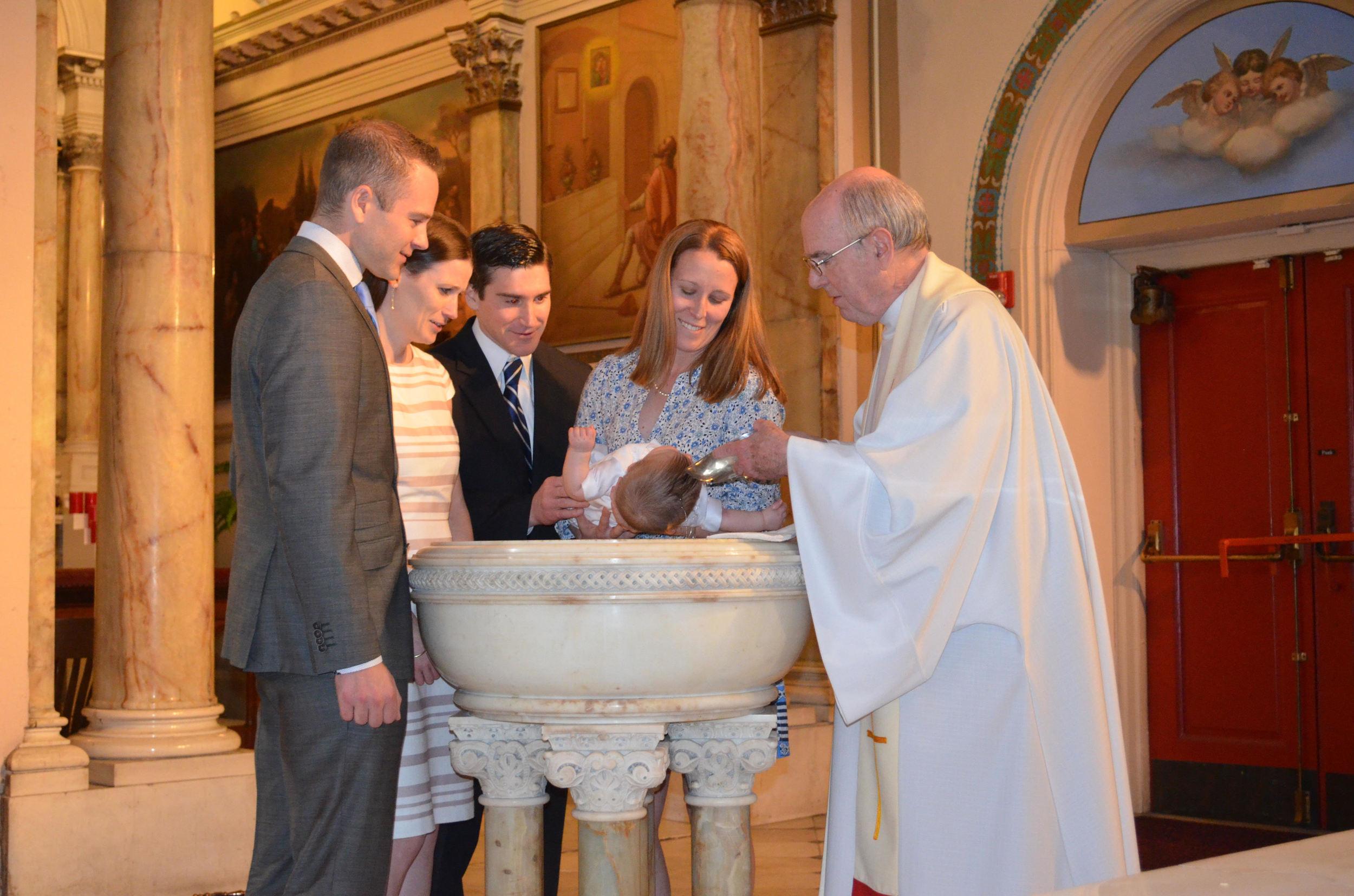 Keegan Luke Riggs Baptism