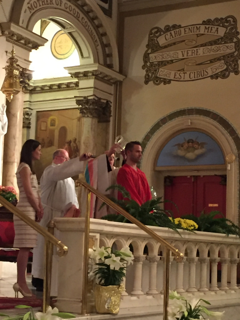 Baptism of Jerre Riggs