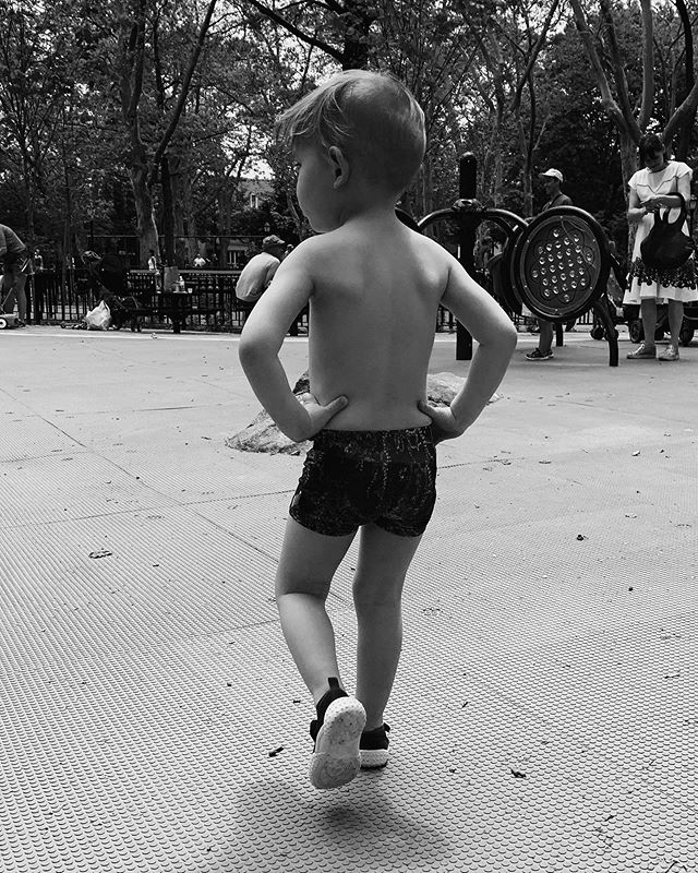 Swim shorts on the playground equal boss status. Great for girls too IMHO... . . . . #agathacub #kidsswim #kidsswimtrunks #boysswim #girlsswim #kidsswimwear #toddlerswimsuit #toddlerswimwear