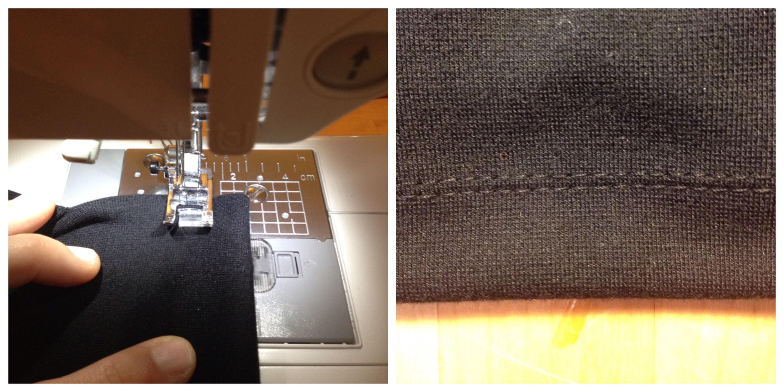 Fair Fit Alterations 5 Fake Cover Stitch