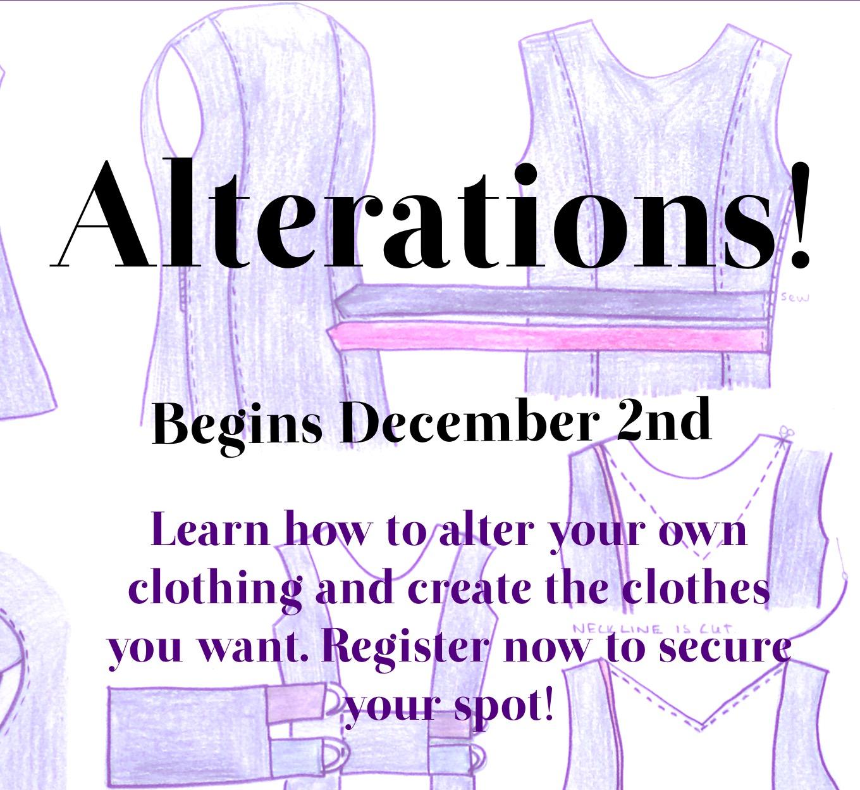 Fair Fit Alterations Class