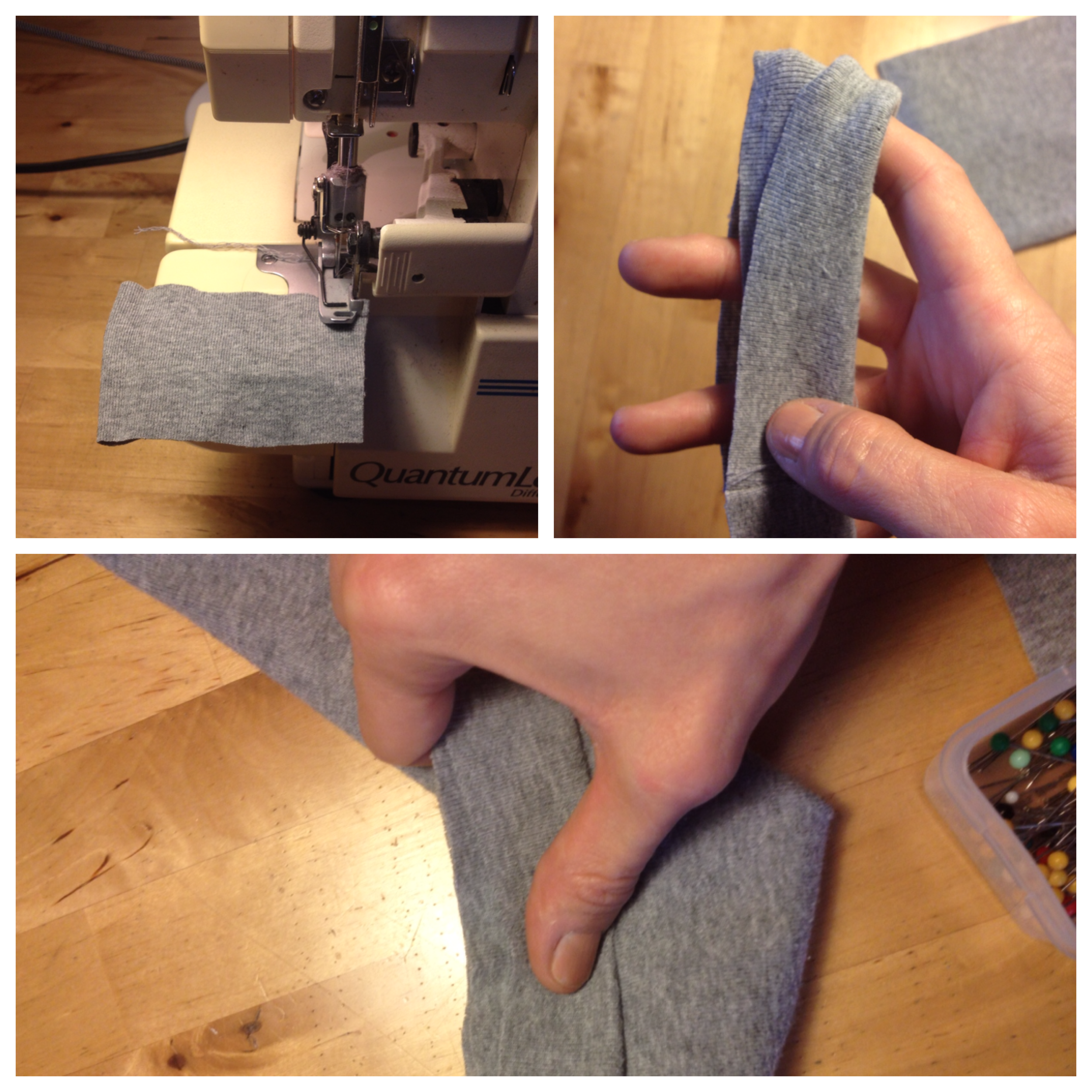 Fair Fit Sewing With Sergers Knitwear Workshop Demo 6