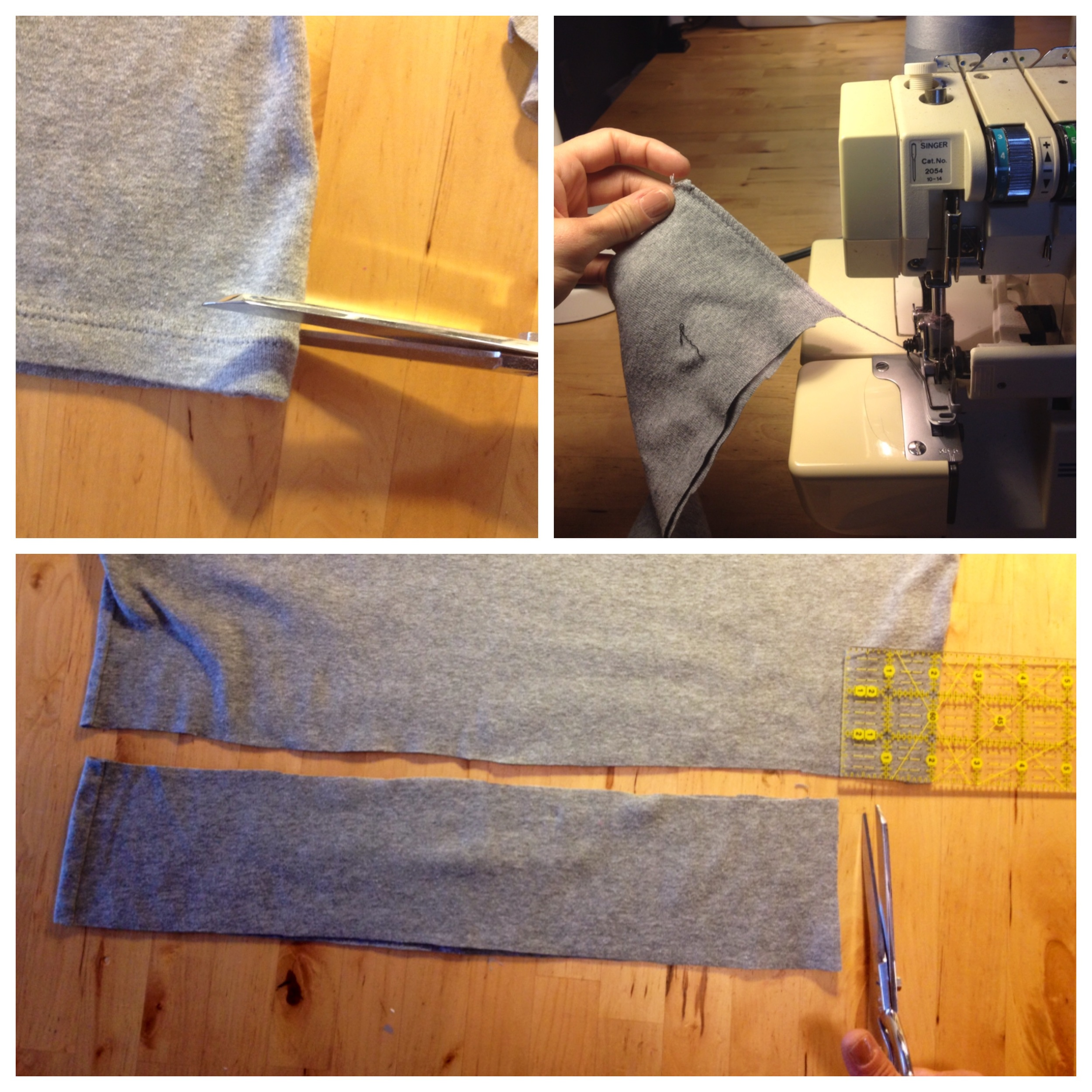 Fair Fit Sewing With Sergers Knitwear Workshop Demo 2