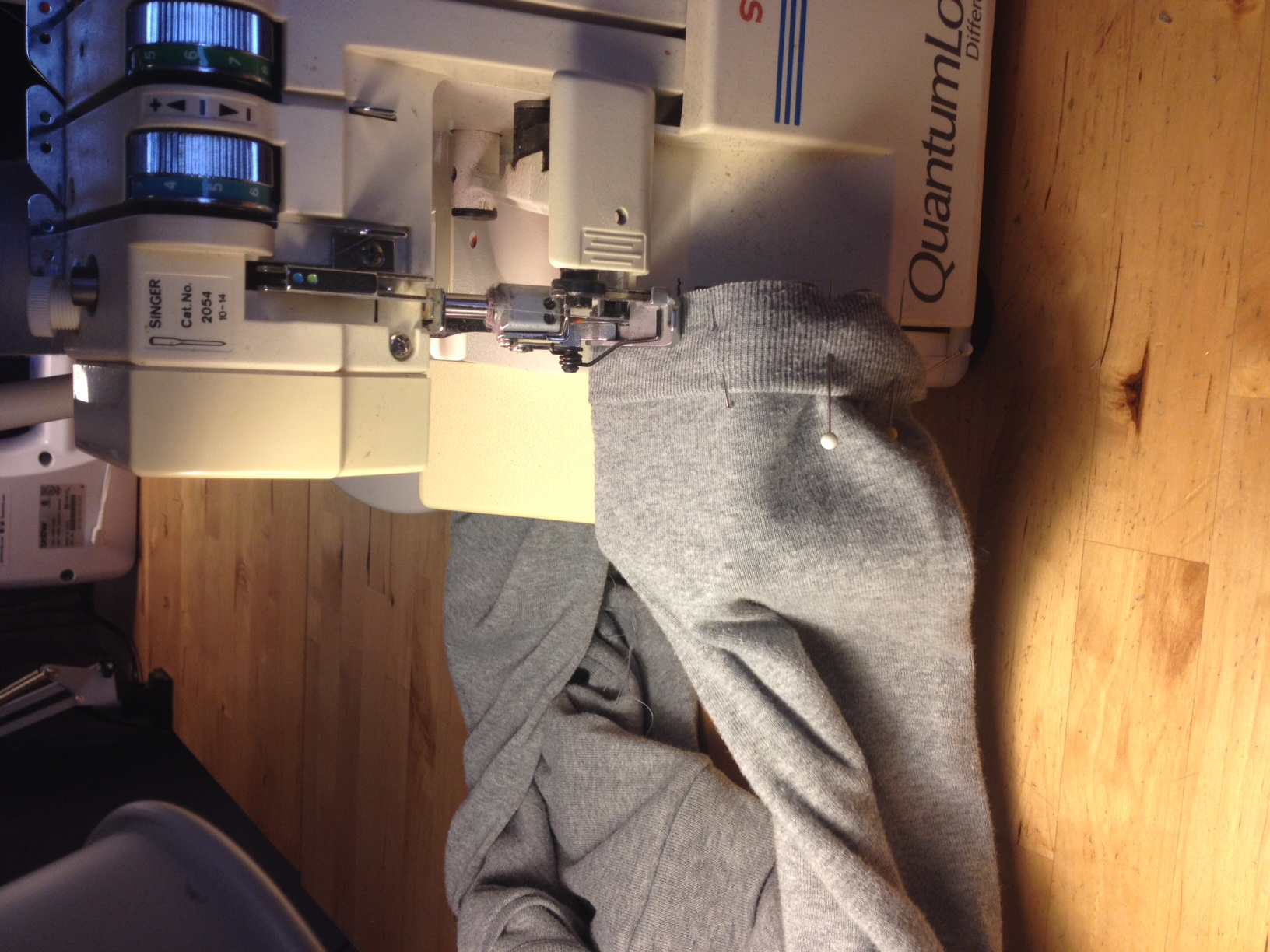 Fair Fit Sewing with Sergers Knitwear Demo 7