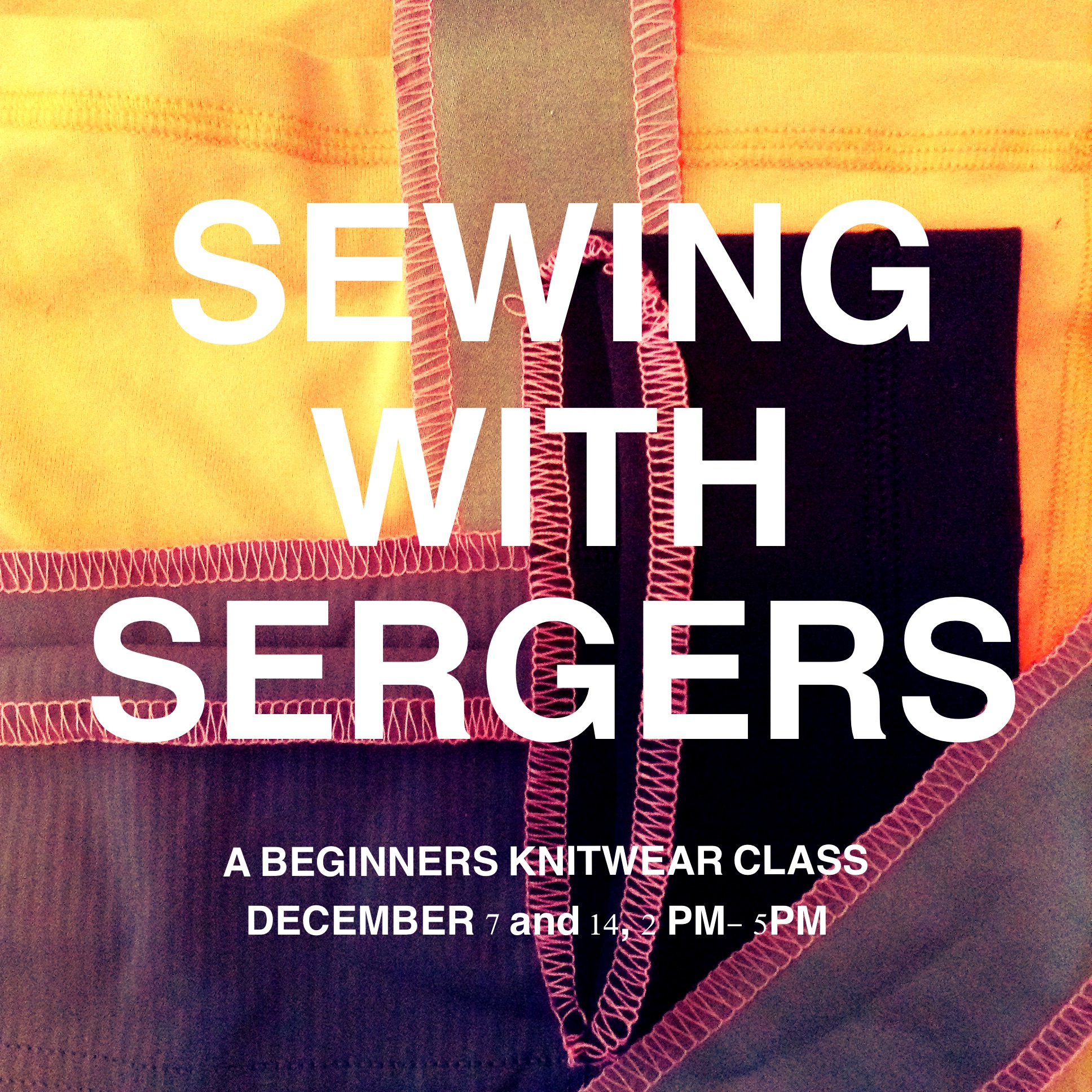 Fair Fit Sewing With Sergers Class