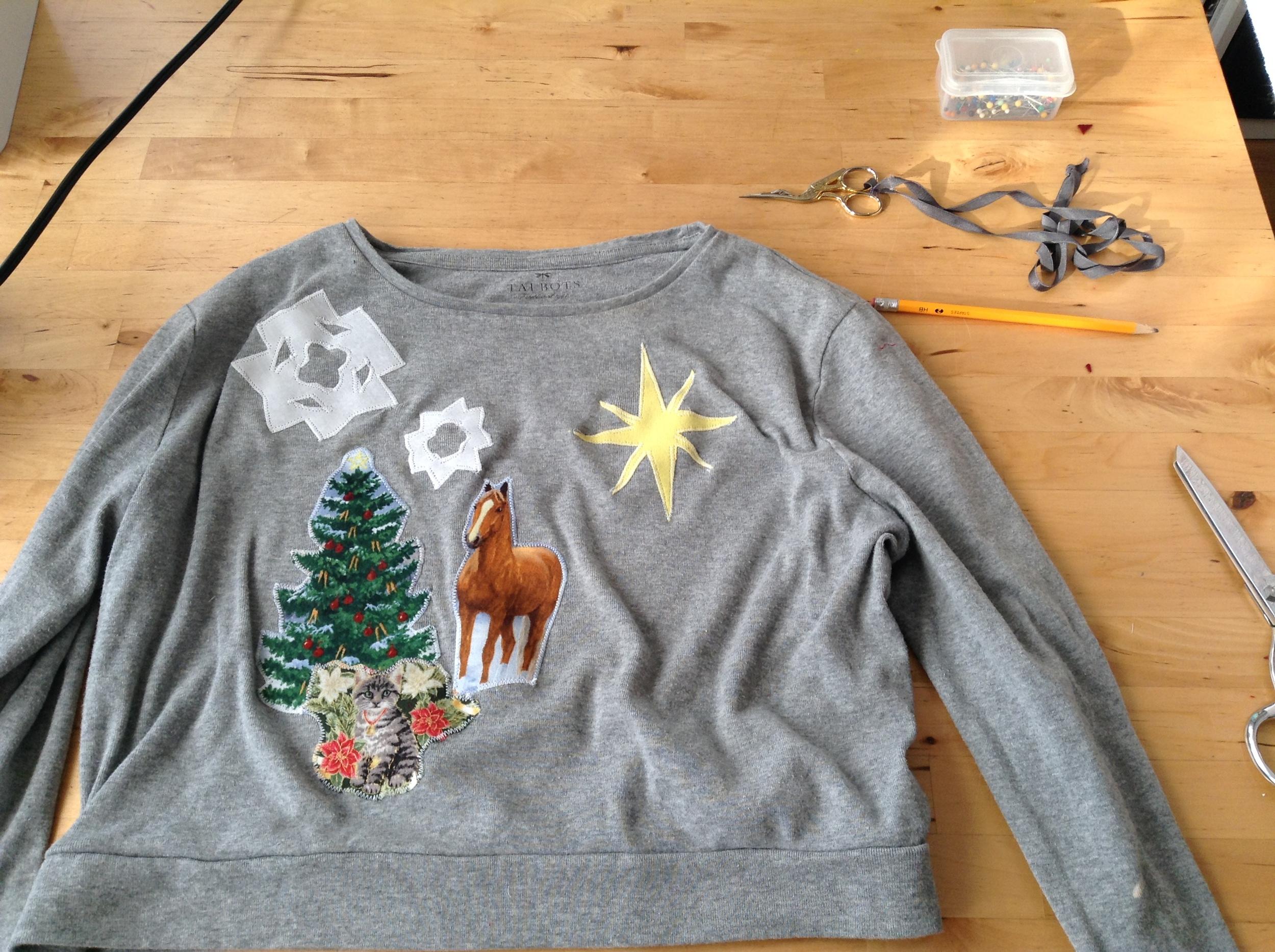 Fair Fit Christmas Applique Tutorial 6
