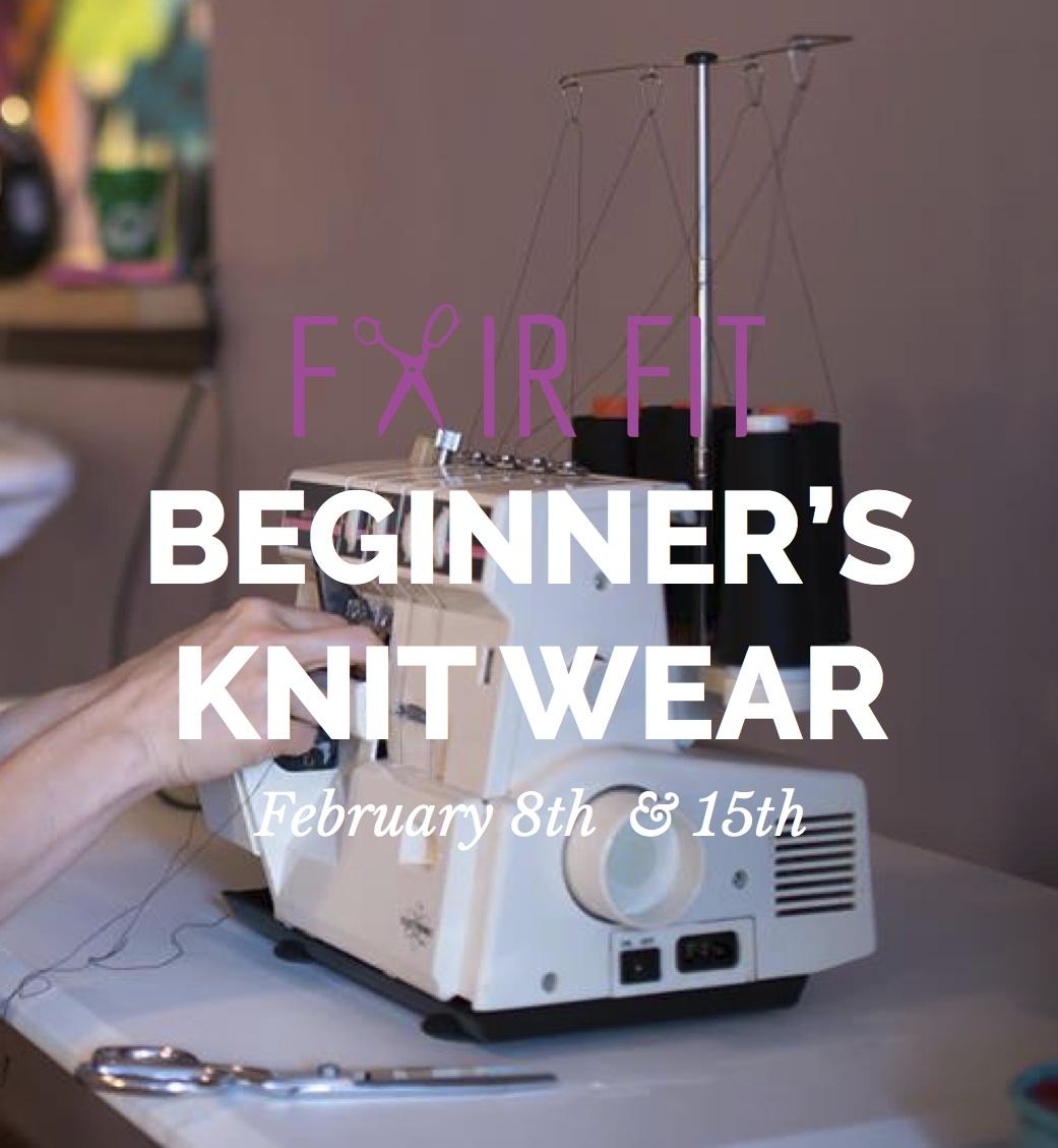 basic knitwear class