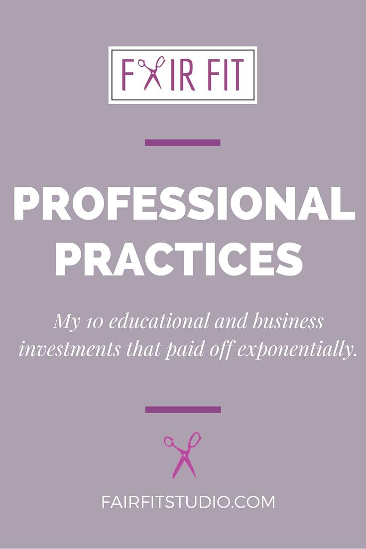 fair fit professional practices