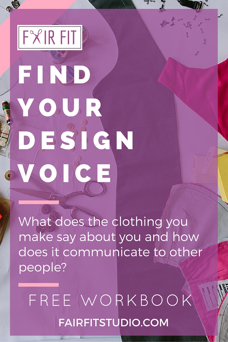 How To Find Your Design Voice Learn Fashion Design Principles For Beginners Fair Fit Studio