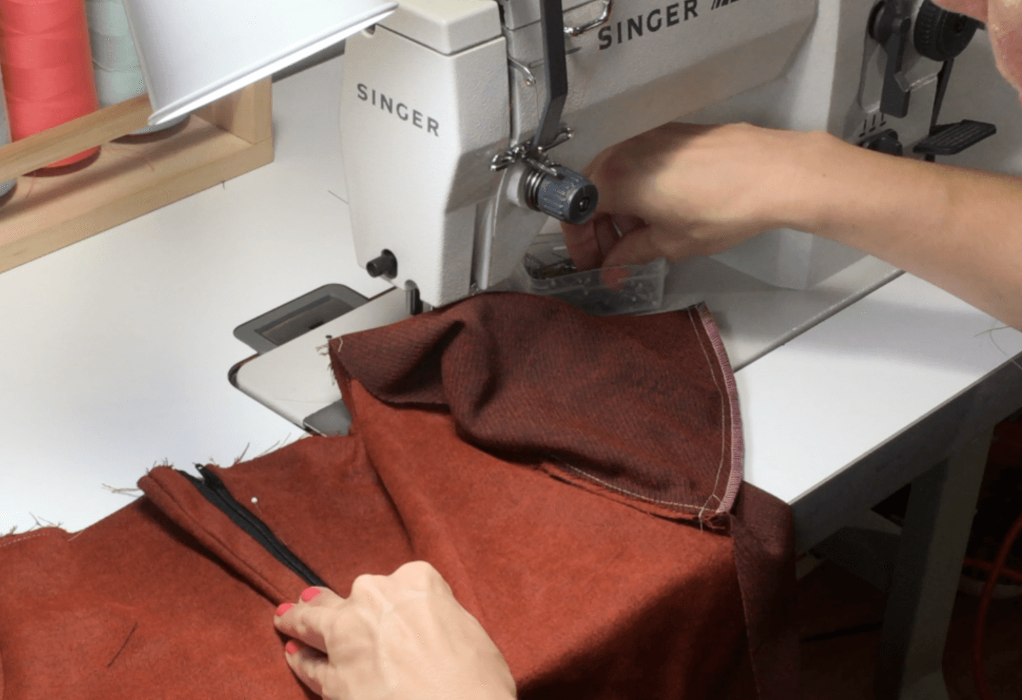 In this written and video tutorial, I will walk you step by step through the process of sewing a fly zipper in a fast and easy method. Click through to watch and learn!