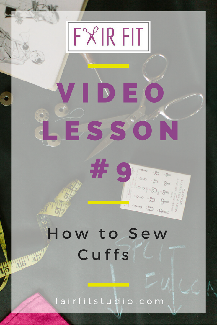 In this written and video tutorial, I will walk you through the steps to construct a cuff and attach and sew it to the sleeve in one sewn step. Click through to watch and learn!