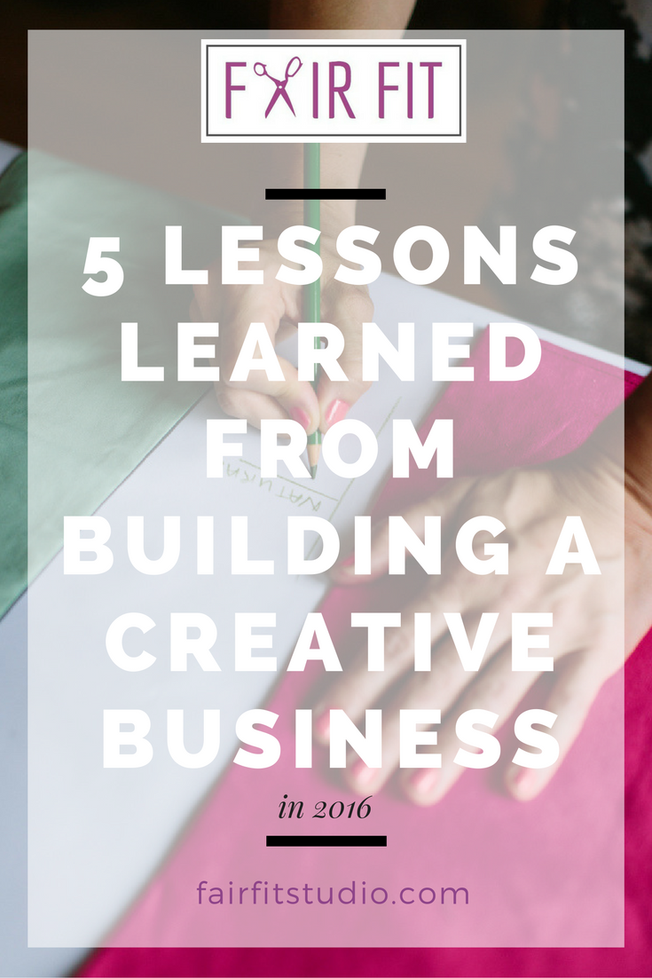 I've heard it said, creating your own business is like the biggest exercise in self development you can take on. In this post, I want to share with you some of the key lessons, situational takeaways, and solutions to problems that I learned in 2016 while growing a creative business, that apply to any creative thinker, project or endeavor. Click through to read the article.
