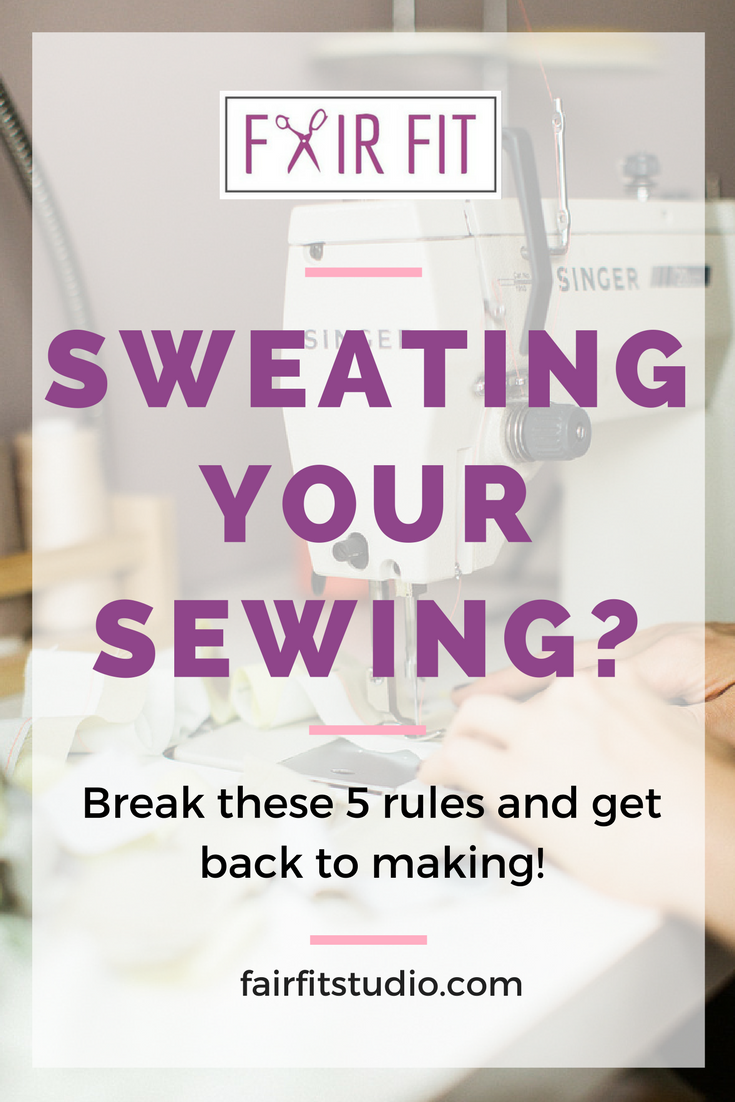 Don't get me wrong, there are definitely fundamentals to sewing that you really must learn, practice, and master to get great results with your sewing and work with sewing patterns. But honestly, if enough people complain, and ask why something is done in that certain way, you have to start considering is this rule really necessary? In this post, we will explore why the rules exist, when not to sweat it, and when they really matter.