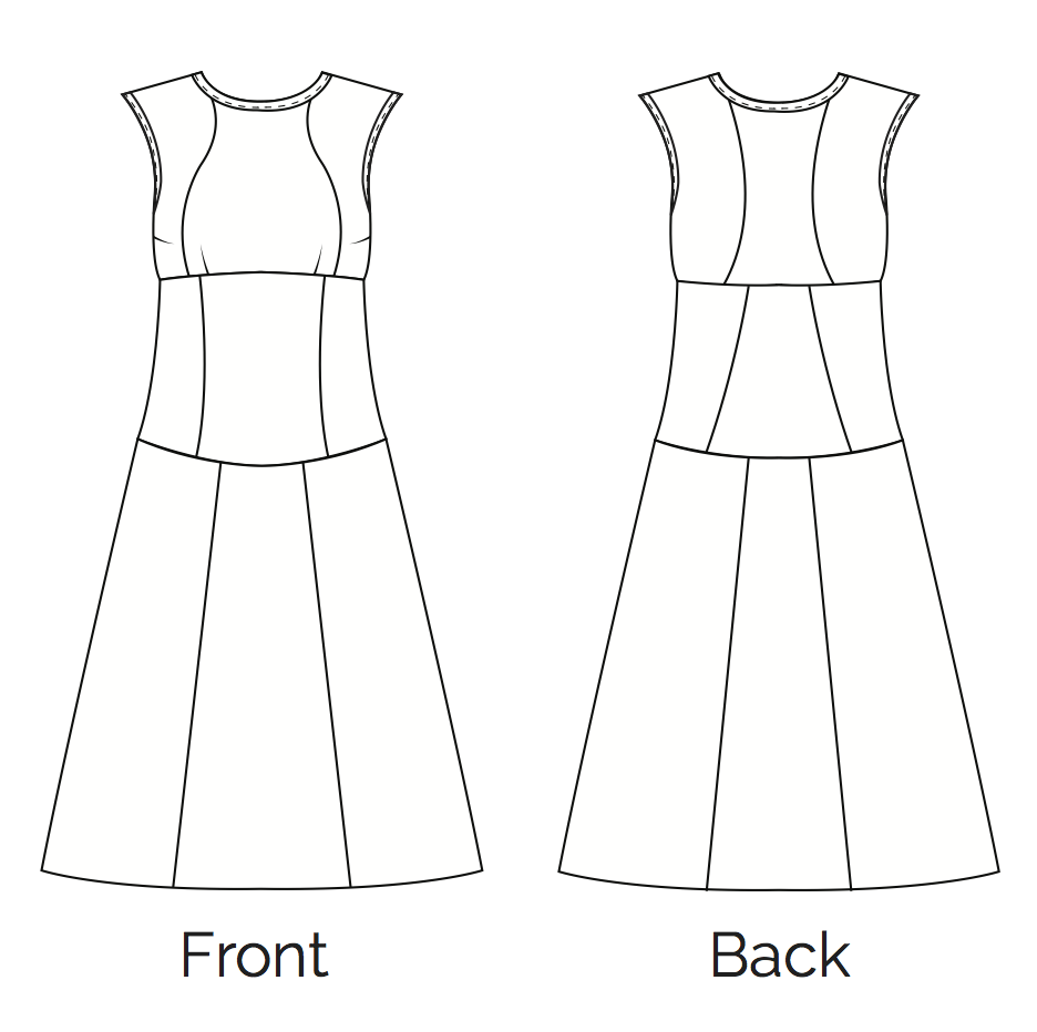 Learn and Make the Fair Fit Dress Version 1