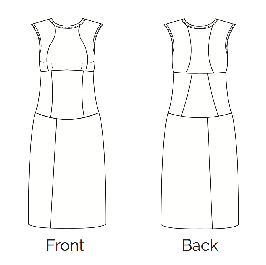 Learn and Make the Fair Fit Dress Version 2