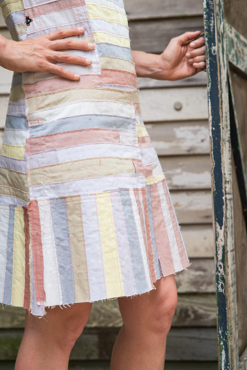ME MADE MAY DAY 18 - FAIR FIT DRESS WITH PATCH REPURPOSE