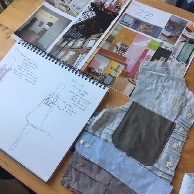 Sewing For Fashion Design? Want to get some insight into how to optimize the fabric you already have? In this post, I share with you my new repurposing method - Heirloom Repurpose.
