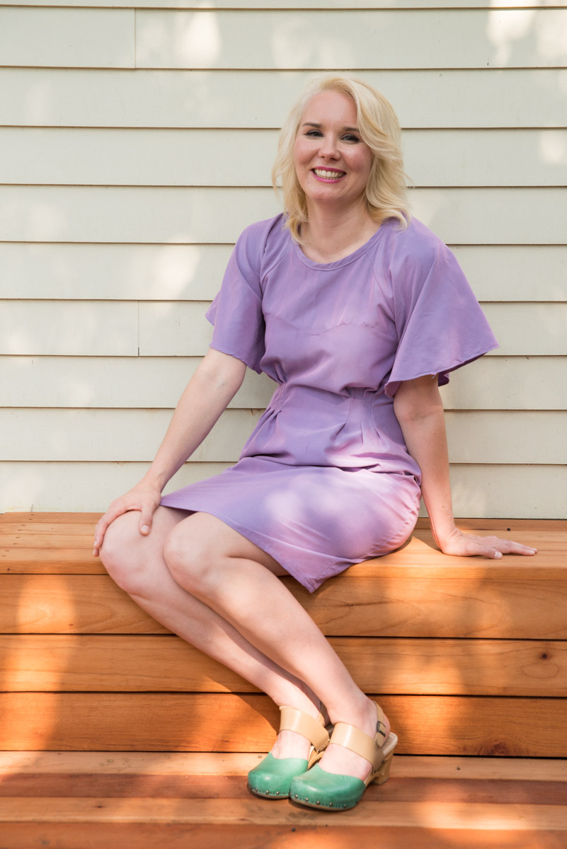 Are you building a handmade wardrobe, and interested in advancing into more challenging projects? Inside this post, I share my process sewing Named Patterns Ansa Dress why fabric choice is critical, how to deal with impossible curves, and I'll share tips and tricks to more advanced fashion sewing.