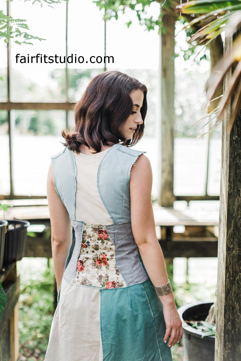 Fair Fit Raw Finish Dress
