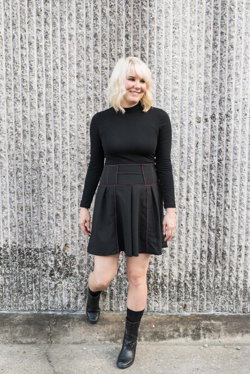 Fair Fit Skirt Pleated Variation