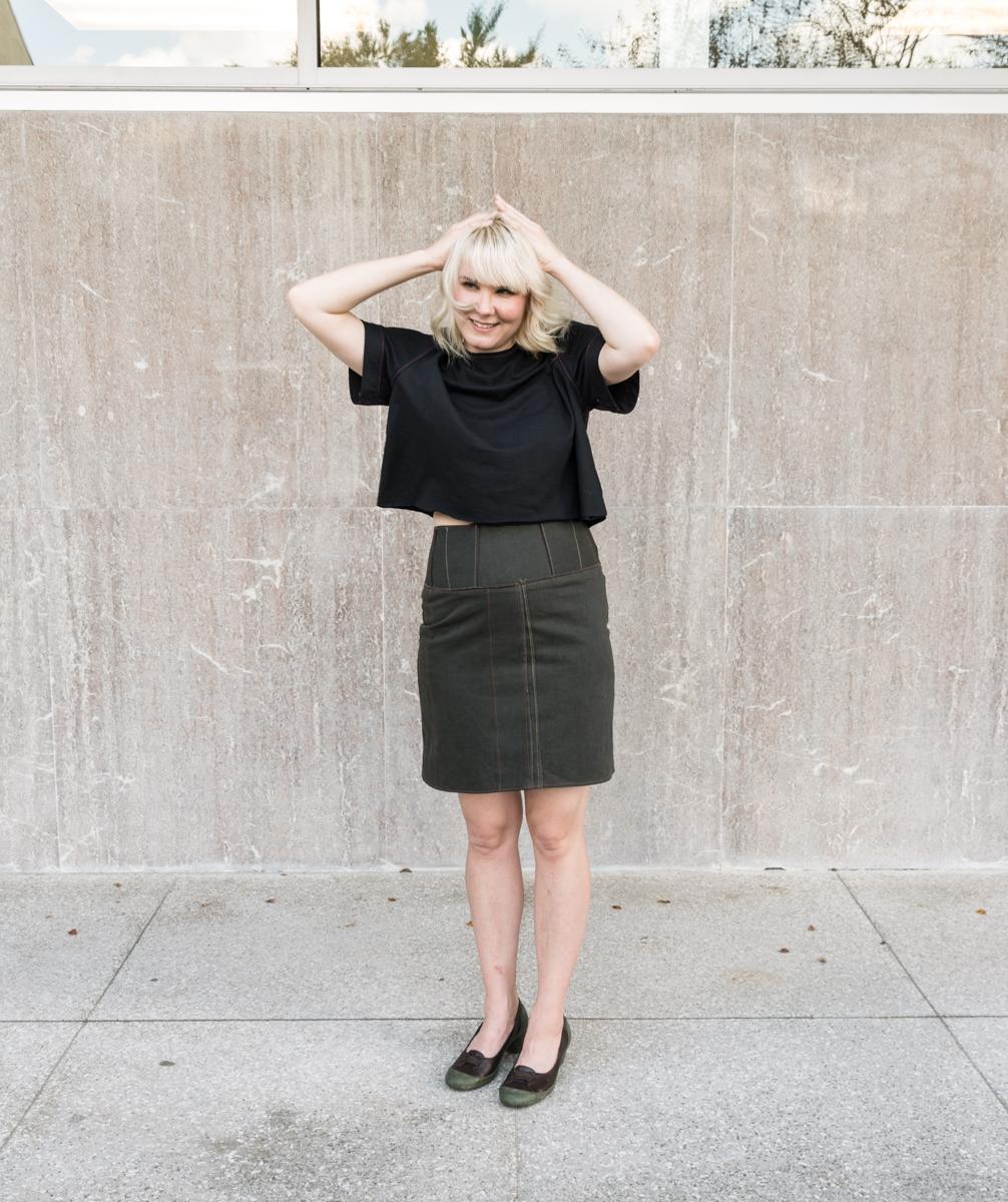 Fair Fit Skirt Pencil Variation