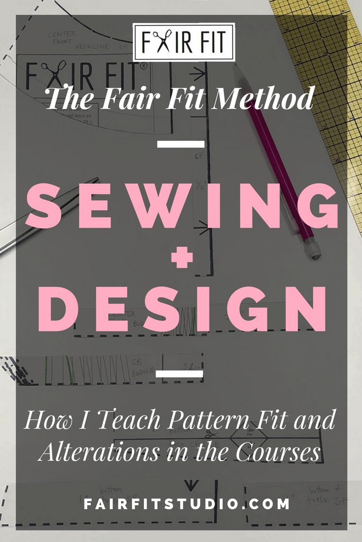 The Fair Fit Method Sewing + Design - How I Teach Pattern Fit and Alterations in the Courses