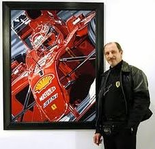 Colin with 'The Ringmaster' canvas giclee print (227x218).jpg