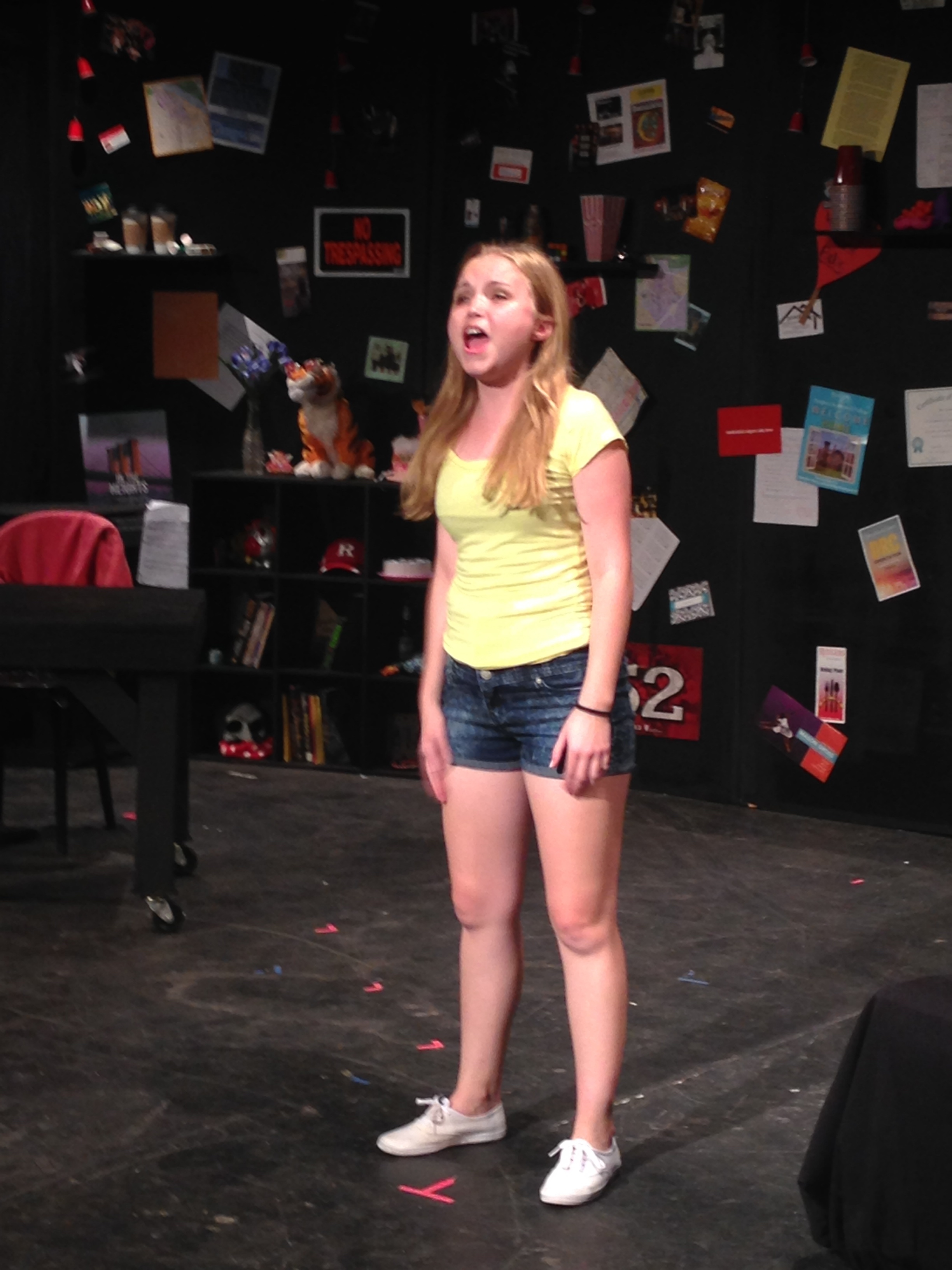 "Megan Kalberer performing ""Middle of a Moment"" from  James and the Giant Peach"