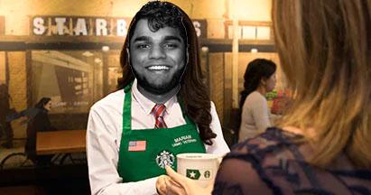 Ajit the Latte Boy