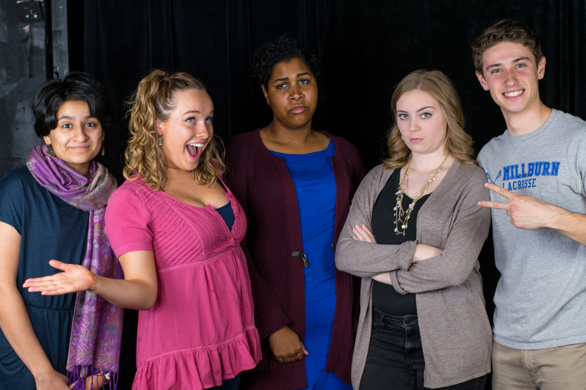 The cast of  Sex-Ed