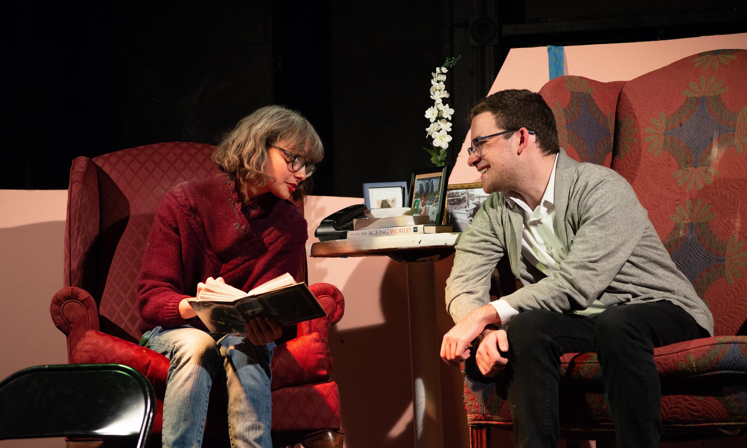 Nishika Bagchi (Helene), John Lerman (Jordan)