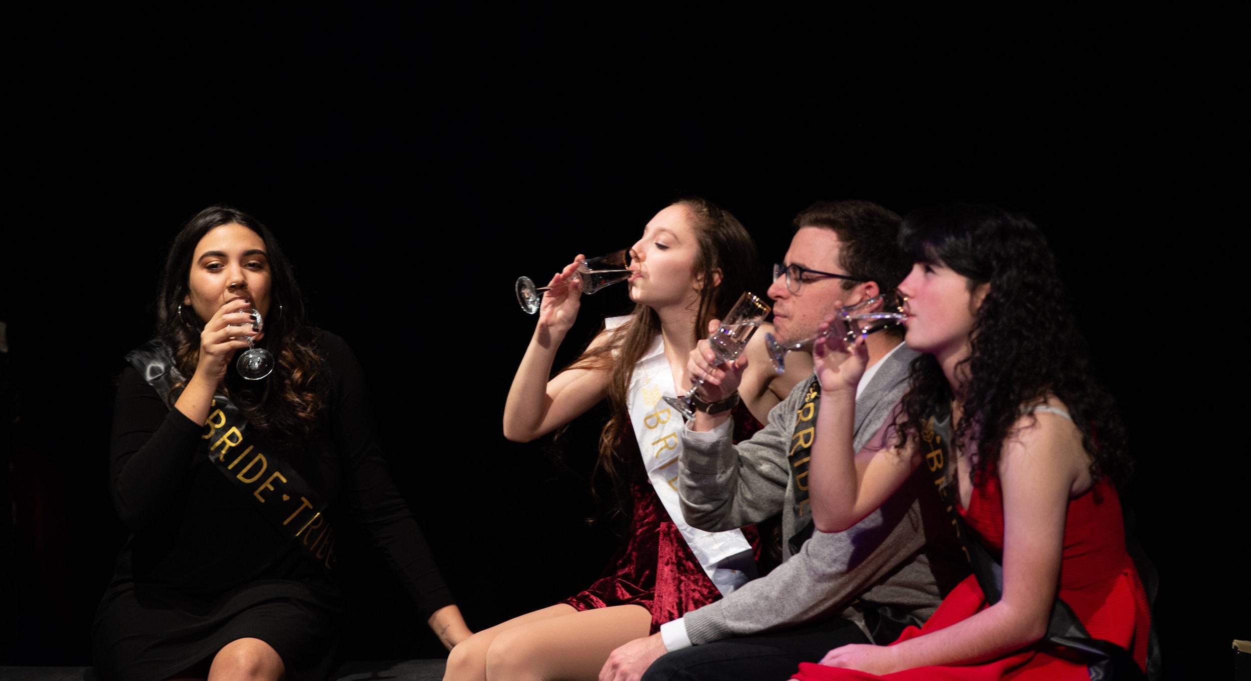 Sabrina Dunn (Vanessa), Katie Siegel (Kiki), John Lerman (Jordan), Steph Bradli (Laura)