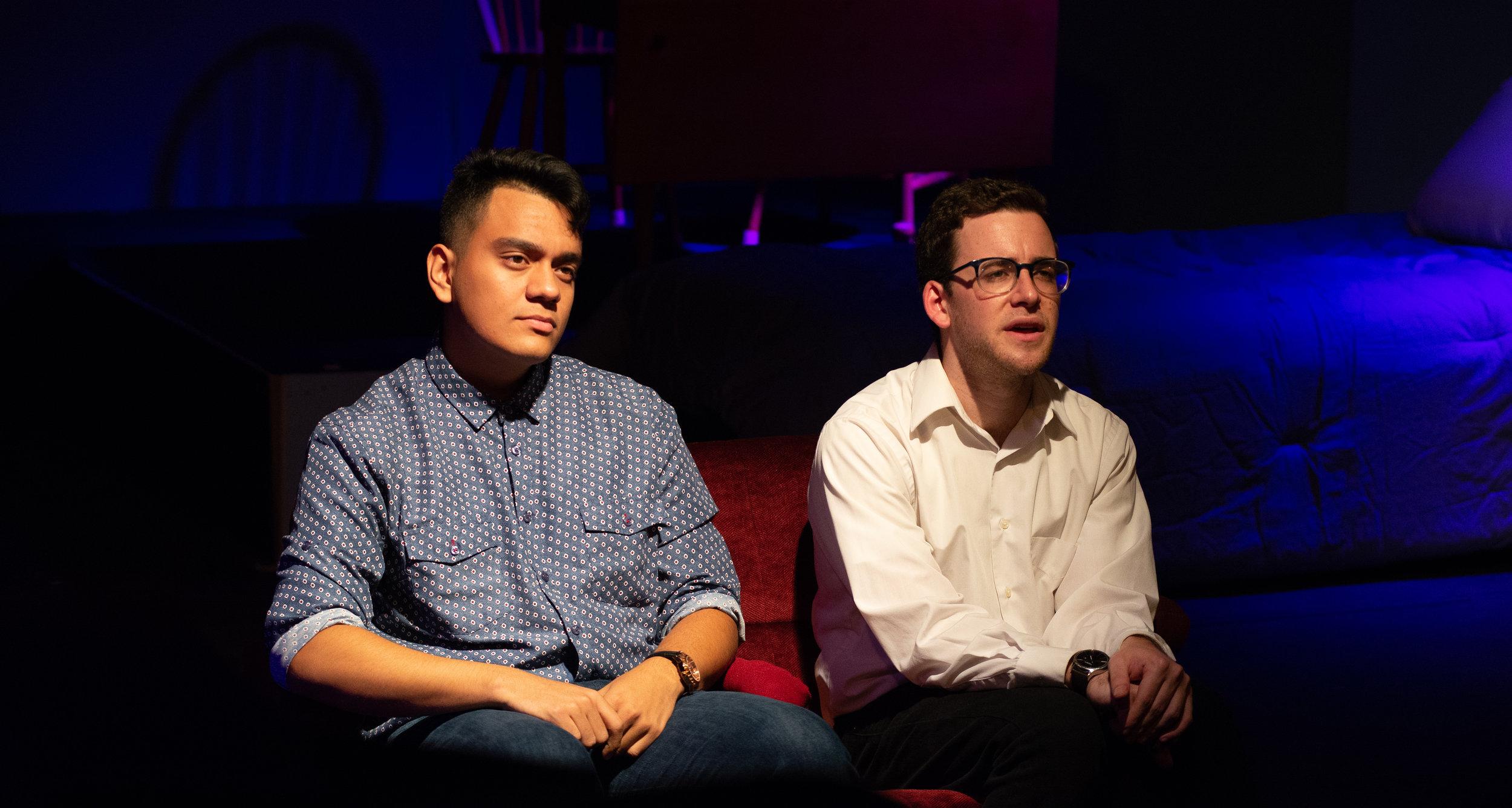 LuisDiego Millan (Will/Conrad/Tony), John Lerman (Jordan)