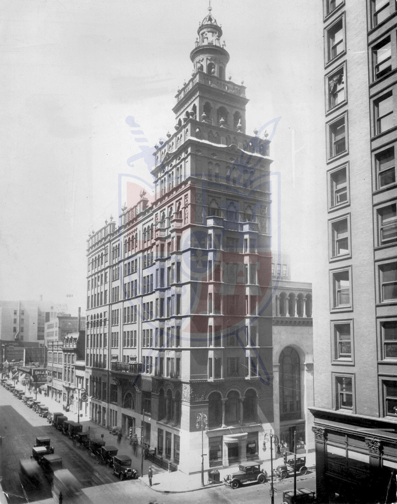 NASBY BUILDING, 1927
