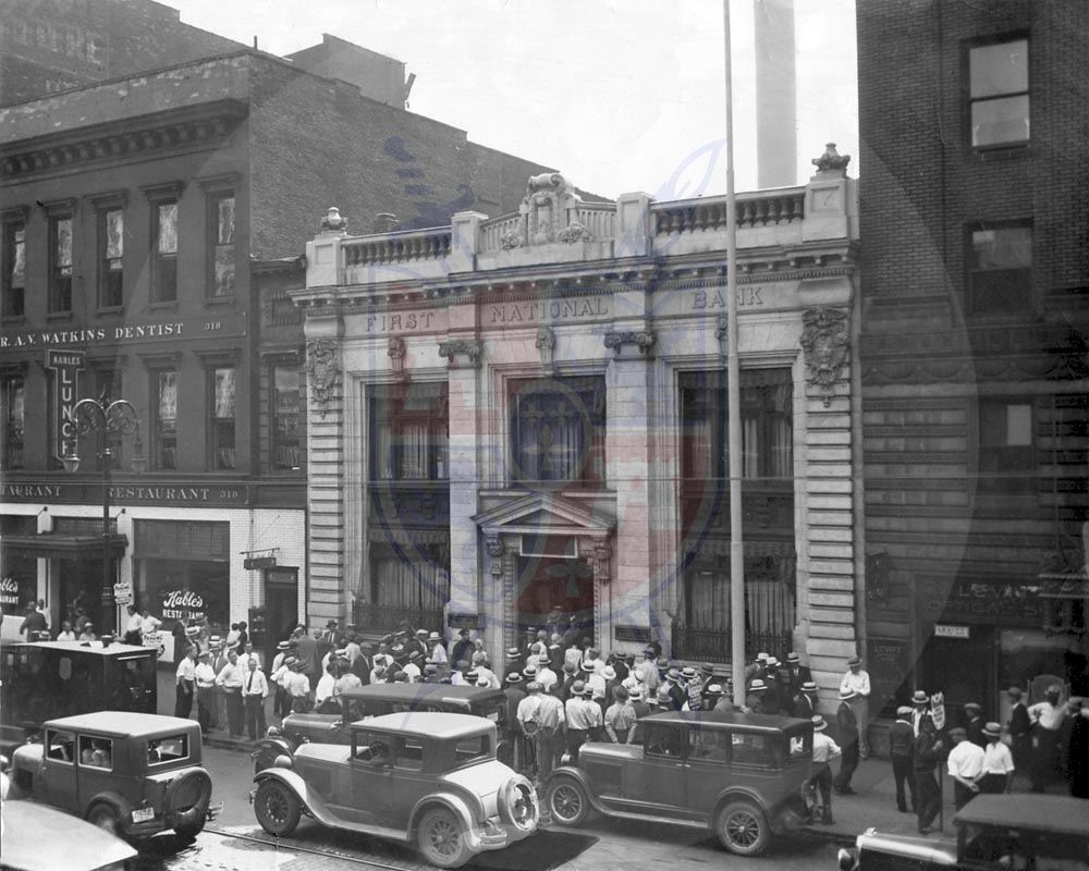 FIRST NATIONAL BANK, 1931