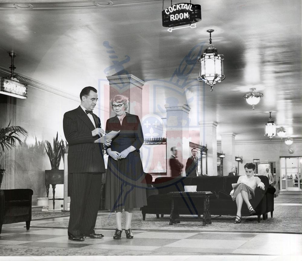 COMMODORE PERRY HOTEL, 1953