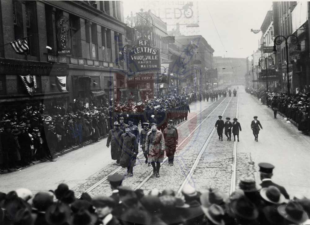 WWI VETS HOMECOMING, 1919