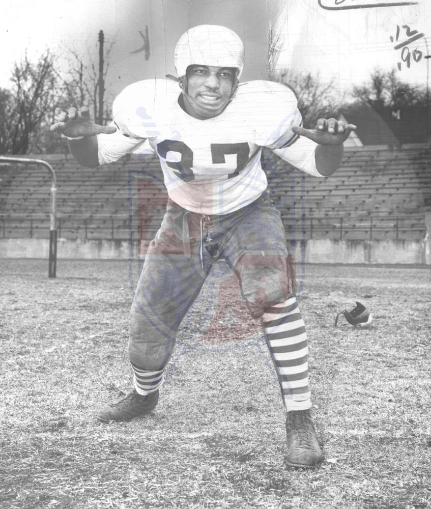 JIM PARKER, SCOTT HS, 1953