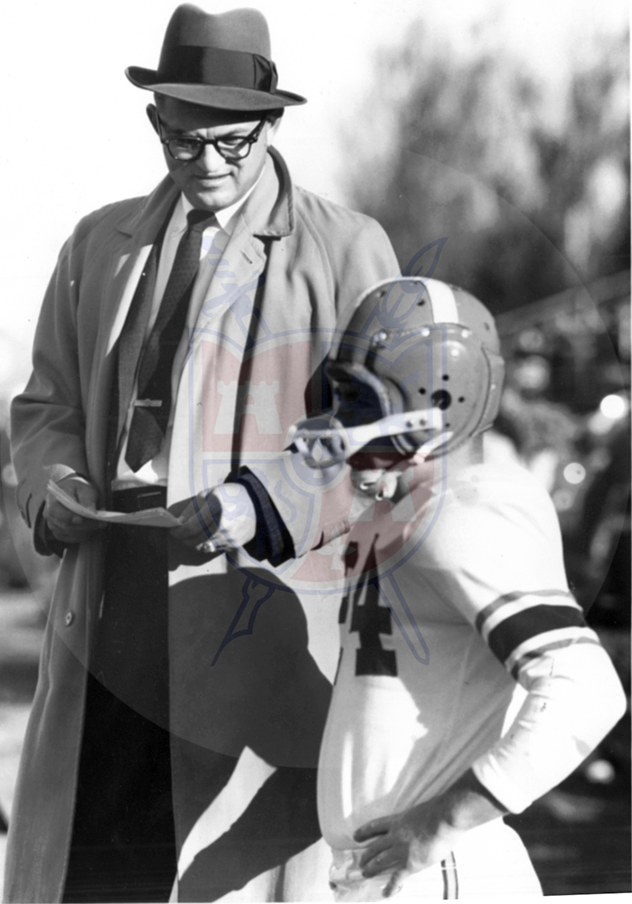 BG COACH DOYT PERRY, 1957