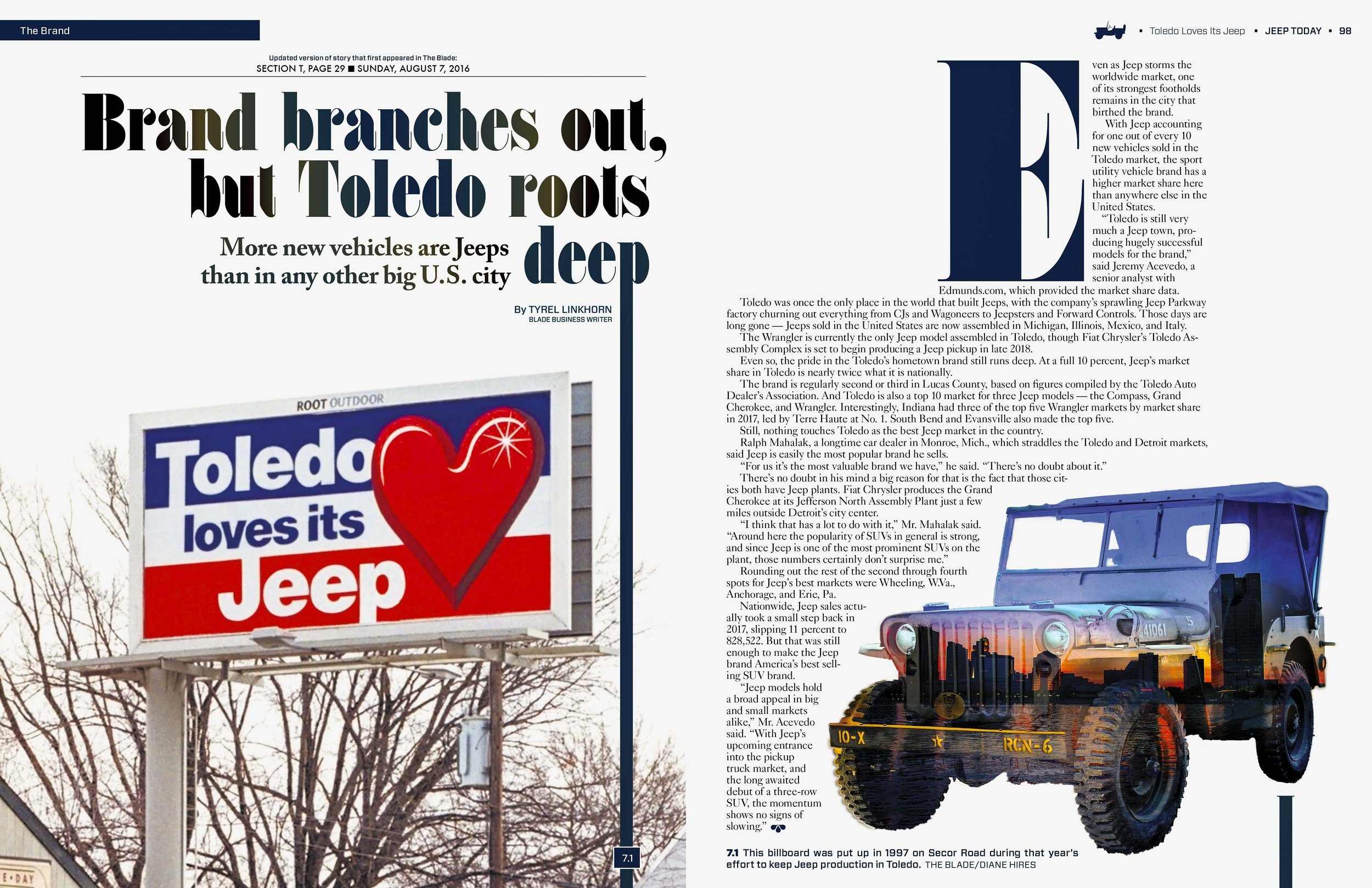 toledo loves its jeep 2nd edition the blade vault toledo loves its jeep 2nd edition the blade vault
